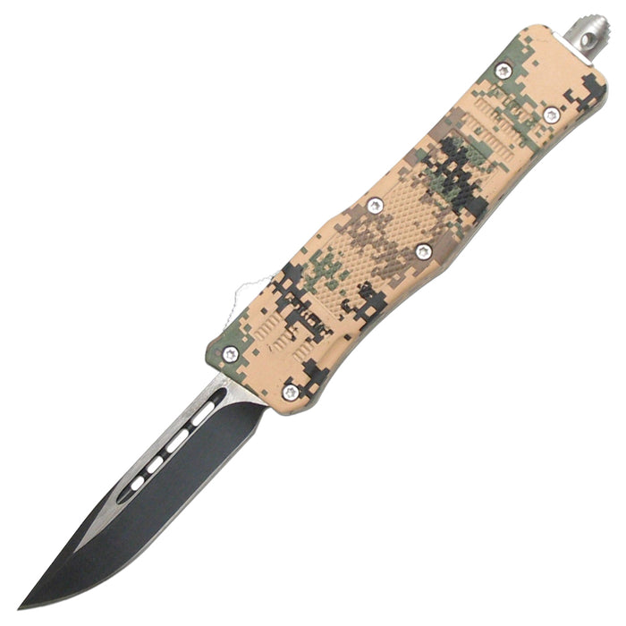 "7"" OVERALL OTF KNIFE WITH SHEATH 112SDGCP"