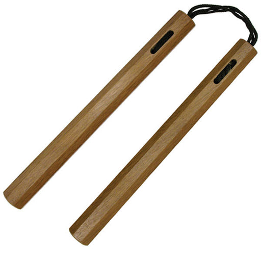 1303 NUNCHUCKS HARDWOOD OCTAGON