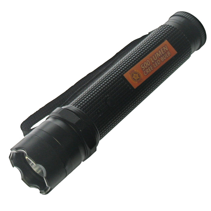9.8 MIL VOLT FLASHLIGHT STUN GUN 14328