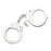 DOUBLE LOCK HANDCUFFS 4803T