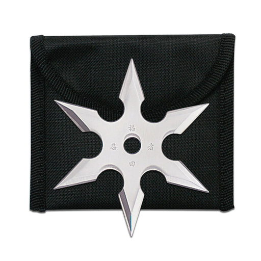 "2.75"" Ninja Star with Pouch 90-19"