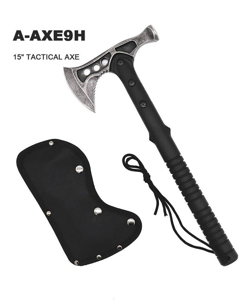 "15"" TACTICAL STAINLESS STEEL AXE"