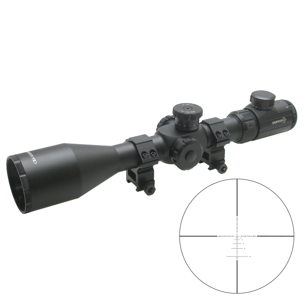 SNIPER CK 4-16X50FPSAL ILLUMINATED SCOPE