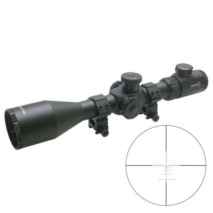 SNIPER CK 4-16X50 DUAL ILLUMINATED SCOPE