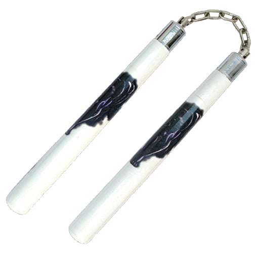 C 133L NUNCHUCKS BLACK PANTHER DESIGN