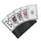 ROYAL FLUSH PLAYING CARD THROWERS SET OF 5 WITH POUCH JL SS5B