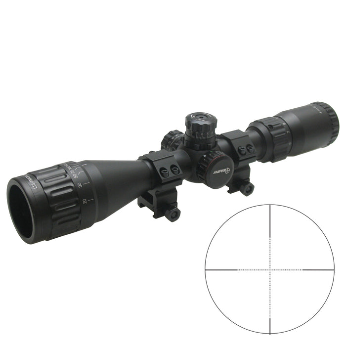 SNIPER LT 3-9X40AOL ILLUMINATED SCOPE