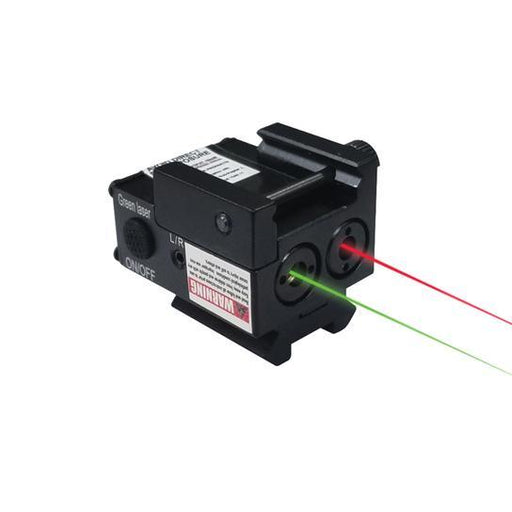 SUB COMPACT GREEN LASER AND RED LASER COMBO XTS-ML2