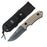 MTECH USA MX-8106/8107 FIXED BLADE KNIFE