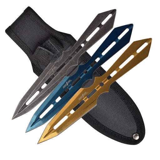 PERFECT POINT PP-120-3 THROWING KNIFE SET OF 3