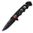 TAC-FORCE TF 611 TACTICAL FOLDING KNIFE with Fire Emblem