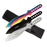 "9"" Tri Color 3 Piece Throwing Knife Set TK-114-3"