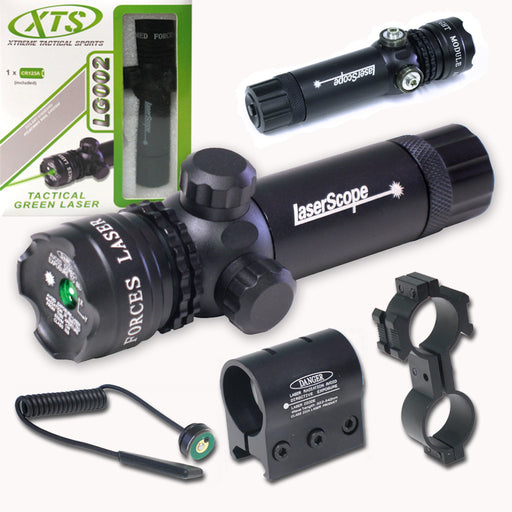 XTS LG002 EXTERNAL ADJUSTABLE TACTICAL GREEN LASER