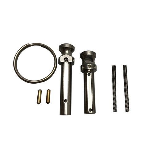 XTS AR-15 STAINLESS EXTENDED PIVOT & TAKEDOWN PINS WITH RING