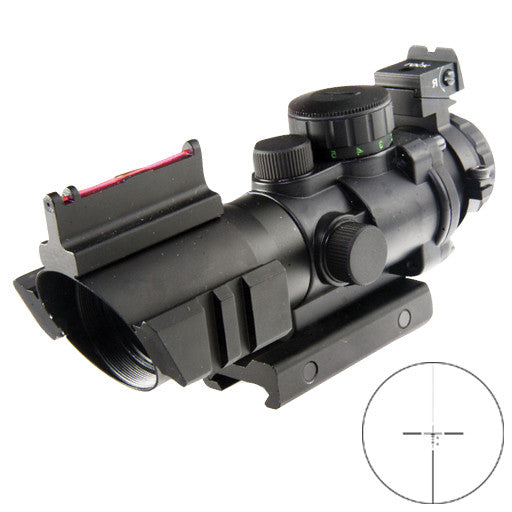 XTS 4X32 FIBER OPTIC RAPID RANGING COMPACT SCOPE XTS 4X32FO