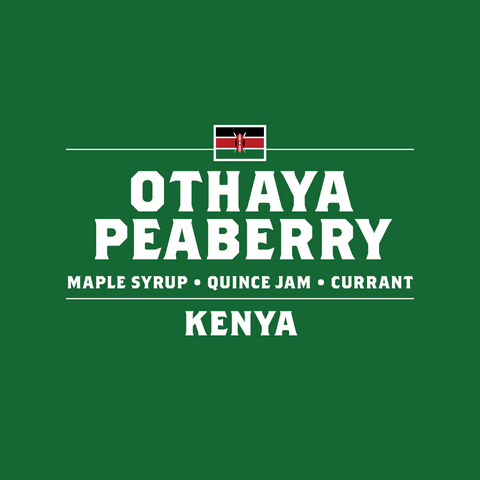 Kenya - Othaya Peaberry - September 2016
