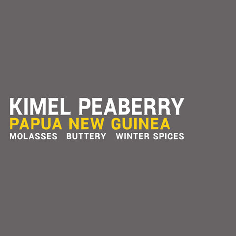 Papua New Guinea - Kimel Peaberry - 5 Pound Bag