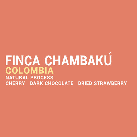 Colombia - Finca Chambakú Natural 5 Pound Bag