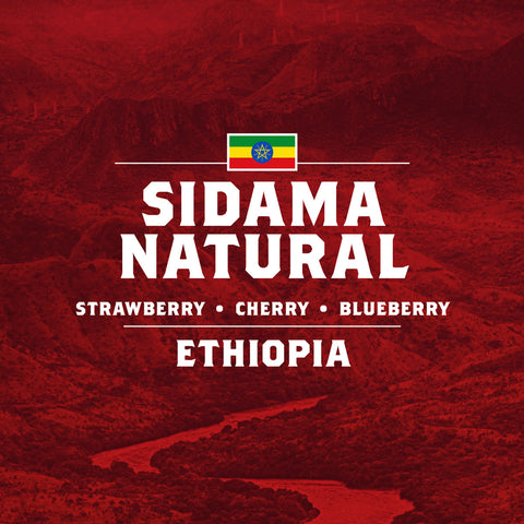 Ethiopia - Sidama Natural - 5 Pound Bag