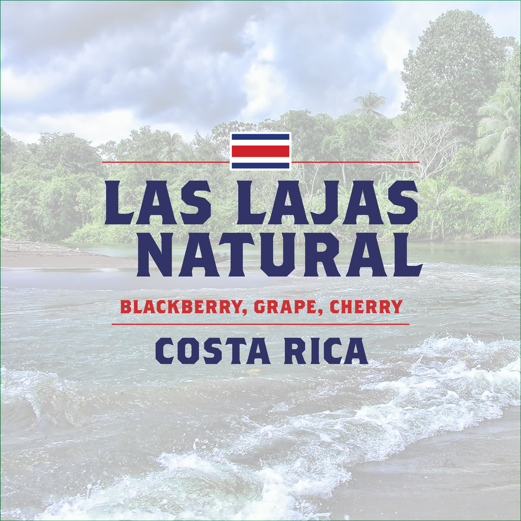 Costa Rica - Las Lajas Natural - 5 Pound Bag