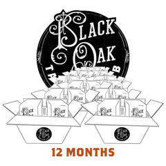 Black Oak Tasting Club - 12 Month Holiday Gift Subscription