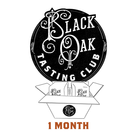 Black Oak Tasting Club - 1 Month Holiday Gift Subscription