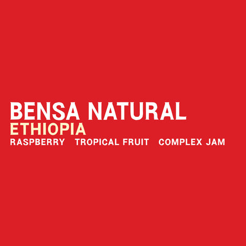 Ethiopia - Bensa Natural 5 Pound Bag