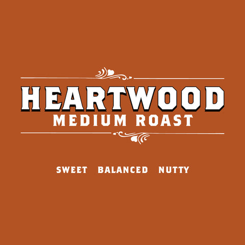 Heartwood Medium Roast<br>5 Pound Bag