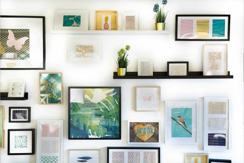 5 Bedroom Photo Wall Ideas