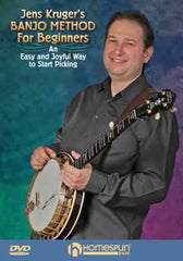 Jens Kruger DVD - Banjo Method For Beginners