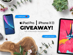 CYBER MONDAY EVENT // 50% OFF + iPHONE XR / iPAD PRO GIVEAWAY! 😱
