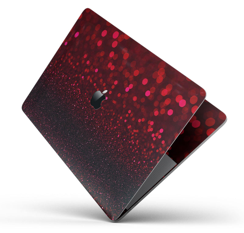 "50 Shades of Unfocused Red - Skin Decal Wrap Kit Compatible with the Apple MacBook Pro, Pro with Touch Bar or Air (11"", 12"", 13"", 15"" & 16"" - All Versions Available)"
