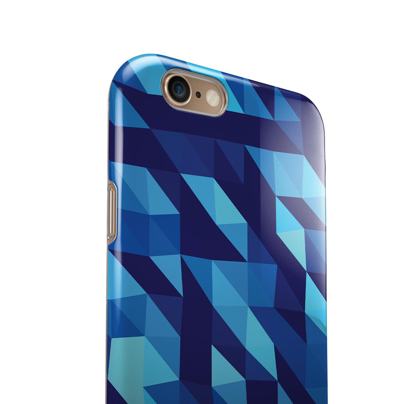 50_Shades_of_Blue_Geometric_Triangles_-_iPhone_6s_-_Gold_-_Clear_Rubber_-_Hybrid_Case_-_Shopify_-_V5.jpg?
