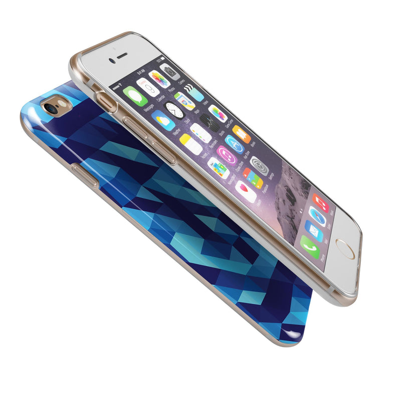 50_Shades_of_Blue_Geometric_Triangles_-_iPhone_6s_-_Gold_-_Clear_Rubber_-_Hybrid_Case_-_Shopify_-_V7.jpg?