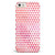 50 Shades of Pink Micro Triangles iPhone 5/5s or SE INK-Fuzed Case