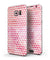 50 Shades of Pink Micro Triangles - Full Body Skin-Kit for the Samsung Galaxy S7 or S7 Edge
