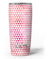 50 Shades of Pink Micro Triangles Yeti Rambler Skin Kit
