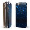 50 Shades of Unflocused Blue iPhone 6/6s or 6/6s Plus 2-Piece Hybrid INK-Fuzed Case