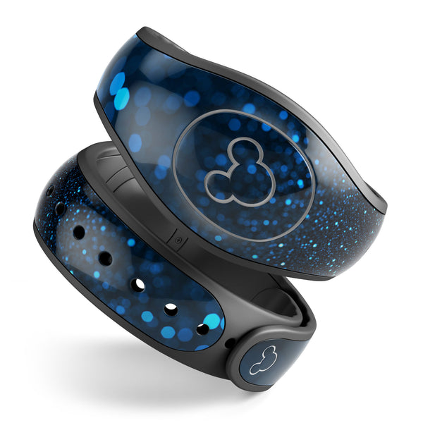 50 Shades of Unflocused Blue - Decal Skin Wrap Kit for the Disney Magic Band