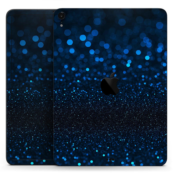 "50 Shades of Unflocused Blue - Full Body Skin Decal for the Apple iPad Pro 12.9"", 11"", 10.5"", 9.7"", Air or Mini (All Models Available)"