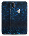 50 Shades of Unflocused Blue - iPhone X Skin-Kit
