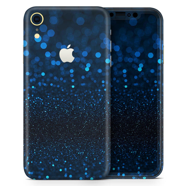 50 Shades of Unflocused Blue - Skin-Kit for the Apple iPhone XR, XS MAX, XS/X, 8/8+, 7/7+, 5/5S/SE (All iPhones Available)