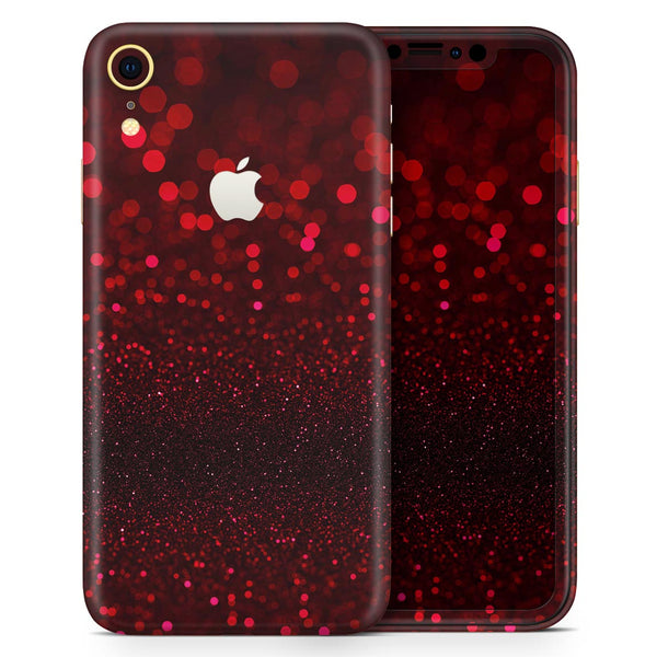 50 Shades of Unfocused Red - Skin-Kit for the Apple iPhone XR, XS MAX, XS/X, 8/8+, 7/7+, 5/5S/SE (All iPhones Available)