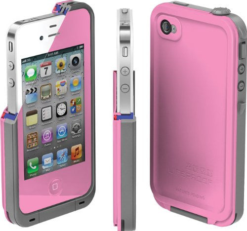 The Pink LifeProof Case for the iPhone 4/4s