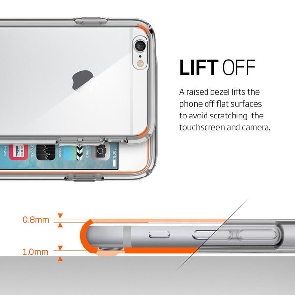 sports shoes 68daa 9c15e The Crystal Space Clear Ultra Hybrid Bumper iPhone 6/6s Case