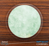 The Vintage Green Textured Skinned Foam-Backed Coaster Set