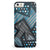 Abstract Black and Blue Overlap iPhone 5/5s or SE INK-Fuzed Case