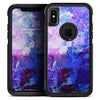 Abstract Blue & Pink Surface - Skin Kit for the iPhone OtterBox Cases