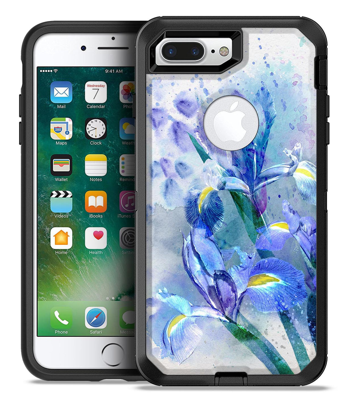 abstract iphone 7 plus case