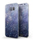 Abstract Blue Grungy Stars - Full Body Skin-Kit for the Samsung Galaxy S7 or S7 Edge